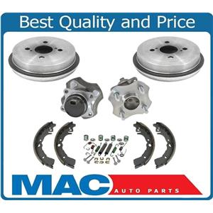 100% New Wheel Hub Bearings Brake Drums & Shoes for Toyota Echo with ABS 00-05