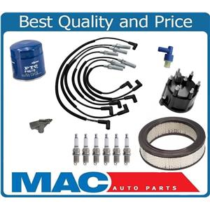 New Spark Plug Ign. Wires Cap Rotor Platinum Plugs for 97-03 Ram Van 1500 3.9L