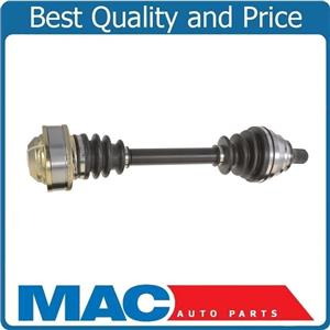 100% New Complete CV Drive Axle Drivers Side Audi A3 2.0L Gas Engine 2009-2011