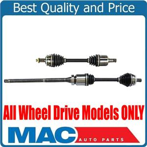 100% New Front Left & Right CV Axle Shaft 03-07 for Volvo XC70 All Wheel Drive