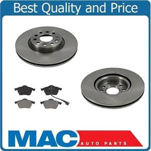(2) 34193 Disc Brake Rotor, Front 312MM With CD687 Ceramic Pads Call And Check