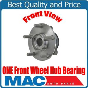 ONE 100% New FRONT Wheel Bearing Hub Assembly for Nissan Juke 2011-2017