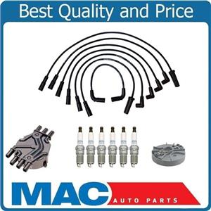 100% New Ignition Wires Spark Plugs Distribuitor Cap Rotor Astro Van 1998-2005