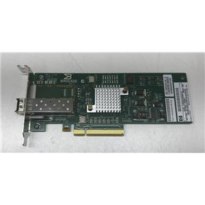 HP 81B PCI-e 8GB Fiber Channel Single Port HBA Small Bracket 571520-001 w/ SFP