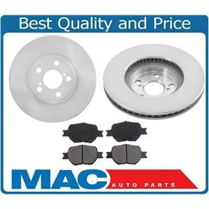 Front Brake Rotor & Ceramic Brake Pads For 2005 - 2010 Scion Tc 00-05 Celica
