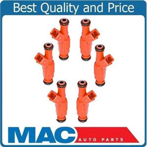 (6) Aus Injection MP-50066 Reman Flow Matched Fuel Injector