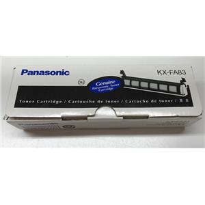 Panasonic Black Laser Toner Cartridge KX-FA83 Lot of 2