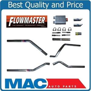 1996-1999 Chevy 1500 Dual Exhaust with FLOWMASTER MUFFLER