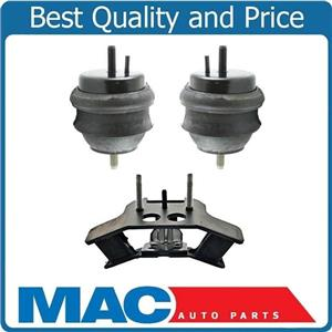 for Cadillac CTS 04-07 2.8 & 3.6 A/T Front Engine & Transmission Mounts 3pc Kit