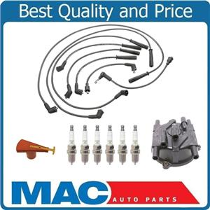100% New Ignition Wires Cap & Rotor Spark Plugs for Toyota 4Runner 3.0L V6 88-91