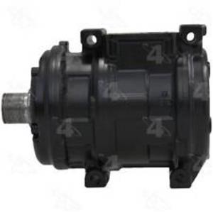 AC COMPRESSOR FITS  1987-1993 VOLKSWAGEN FOX REMAN 57382 (NO CLUTCH)