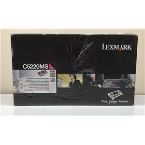 Lexmark Magenta Toner Cartridge 3K Page Yield C5220MS