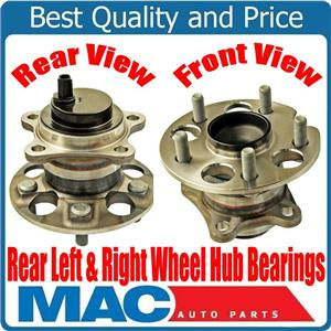 Rear Left Right Wheel Hub Bearings for Toyota Highlander Front Wheel Drive 08-17