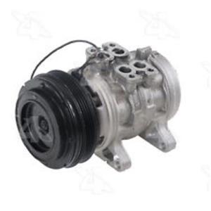 AC Compressor For 1986 1987 Mazda 323 1987 Mercury Tracer (1yr Warranty) R77302