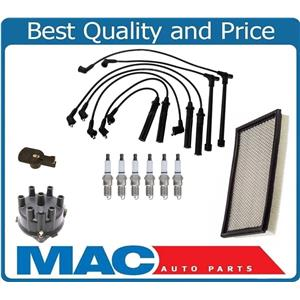 Distributor Cap Rotor Plugs Wires for Nissan Quest & Mercury Villager 3.0 93-98