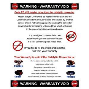 Direct Fit Catalytic Converter for 94-97 Ram 1500 2500 3500 Van Davico 14517