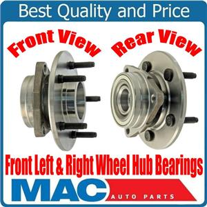 (2) New Front Hub Wheel Bearing for REAR WHEEL ABS 4 Wheel Drv 97-99 Ford F150