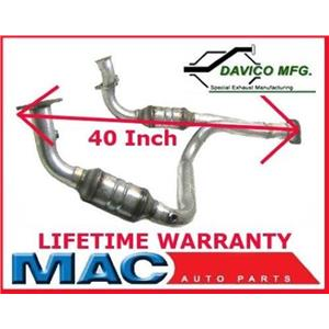 Avalanche 1500 5.3L 2002-03 Davico SHORT 40 Inch 19010 Catalytic Converter