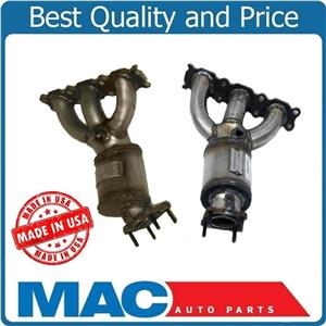 For 07-12 Volvo XC90 3.2L Cyl 123 456 Manifold Catalytic Converters MADE USA