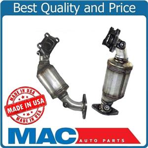 For 12-16 Impala 3.6L Front & Rear Manifold Catalytic Converters 19589 19590