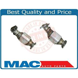 Fit For 07-08 FX45 Rear Under SUV Lft & Rgt (2) Catalytic Converter MADE in USA