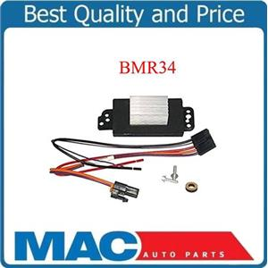 Brand New Blower Motor Resistor BMR34 Fits Buick Chevy Cadillac GMC Saab