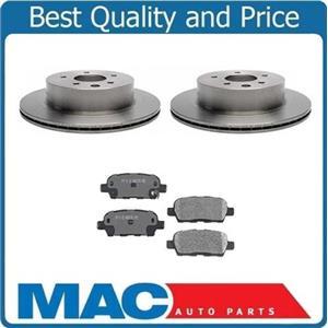 (2) Rear Brake Rotors & Ceramic Pads For 03-05 350Z Base ( Excpet Brembo )