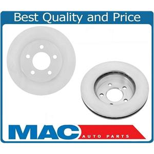 (2) Front Left & Right Disc Brake Rotor For Jeep Liberty 2002-2007