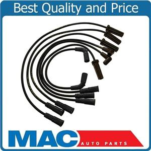 100% New Spark Plug Ignition Wire Set for 02-07 Chevrolet Silverado 4.3L V6