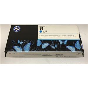 HP 91 Pigment Light Cyan Ink Cartridge 775ml C9470A Z6100