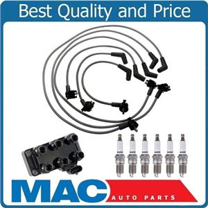 Ignition Wires Spark Plugs & Coil Pack for Ford Mustang 3.8L V6 from 01/99-00