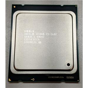 Lot of 2 Intel Xeon E5-2603 Quad Core 1.80GHz 10MB Cache LGA2011 Socket SR0LB