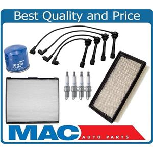 100% Brand New Spark Plugs Wires Air Oil Filter for Hyundai Tiburon 2.0L 03-08