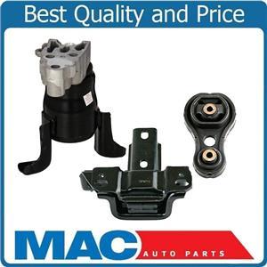 3Pc Engine Motor Mount Torque Strut Manual Transmission for Mazda 2 New 11-14