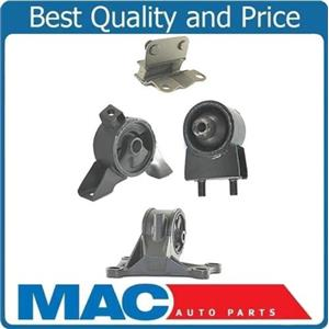 New Automatic Transmission & Engine Motor Mounts 4pc For Mazda 626 2.0L 2000