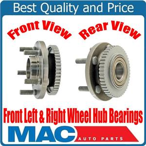 100% New FRONT Left & Right Wheel Bearing and Hub Assembly for Volvo 960 94-97