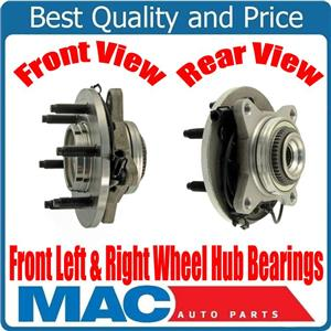 (2) 100% New Front Wheel Bearing Hub Assembly for 03-06 Expedition 4 Wheel Drive