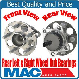 (2) 100% New REAR Wheel Bearing and Hub Assembly for Toyota Prius C 12-16