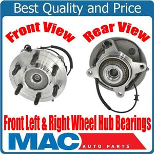 Front Wheel Hub Bearings for Ford F150 No Heritage 6 Stud 4 Wheel Drive 2004