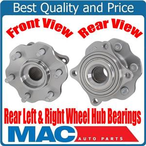 (2) New Rear Hub and Bearing Assembly for Nissan Pathfinder 05-12 No for Armada