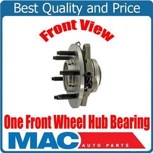 One Front Wheel Bearing Hub Assembly for 03-06 Ford Expedition 4 Wheel Drive