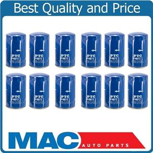 100% New Oil Filter for 1995-2003 Ford F250 Super Duty 7.3L Turbo Diesel 12 Pack