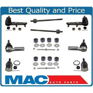 Brand New Inner Outer Tie Rods Ball Joints & Links Fits For 88-91 Honda Prelude