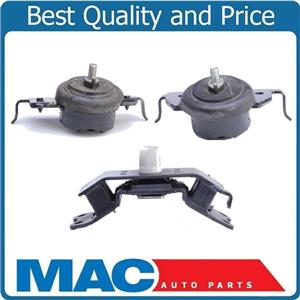 100% New Engine Motor Mount 3Pc Kit   4 Wheel Drive for Toyota Tundra 4.7L 07-09