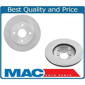 Front Left & Right Brake Rotors fits for 2000 Toyota Echo