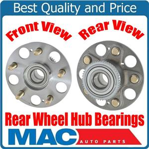 (2) 100% New REAR Wheel Bearing and Hub Assembly Fits for  Acura RSX 02-06