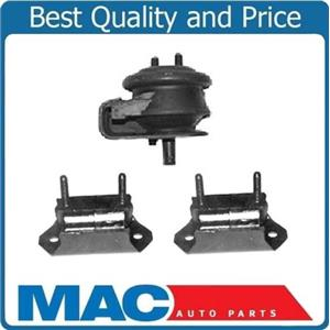 1989-1995 Mazda MPV 4W/D 3.0L Trans & Motor Mount 3pc Kit