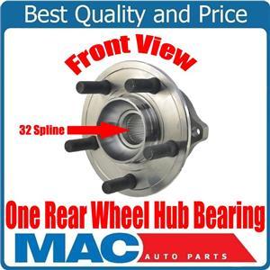 ONE REAR 32 Spline Wheel Hub Bearing for Chrysler 300 09-14 Rear Solid Rotor