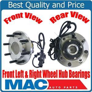 (2)  Wheel Bearing Hub Assembly Rear Wheel Drive 99-04 F250 Super Duty