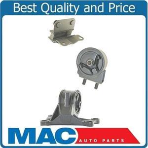 2001-2002 Mazda 626 2.0L A/T Engine & Transmission Mounts 3pc Kit
